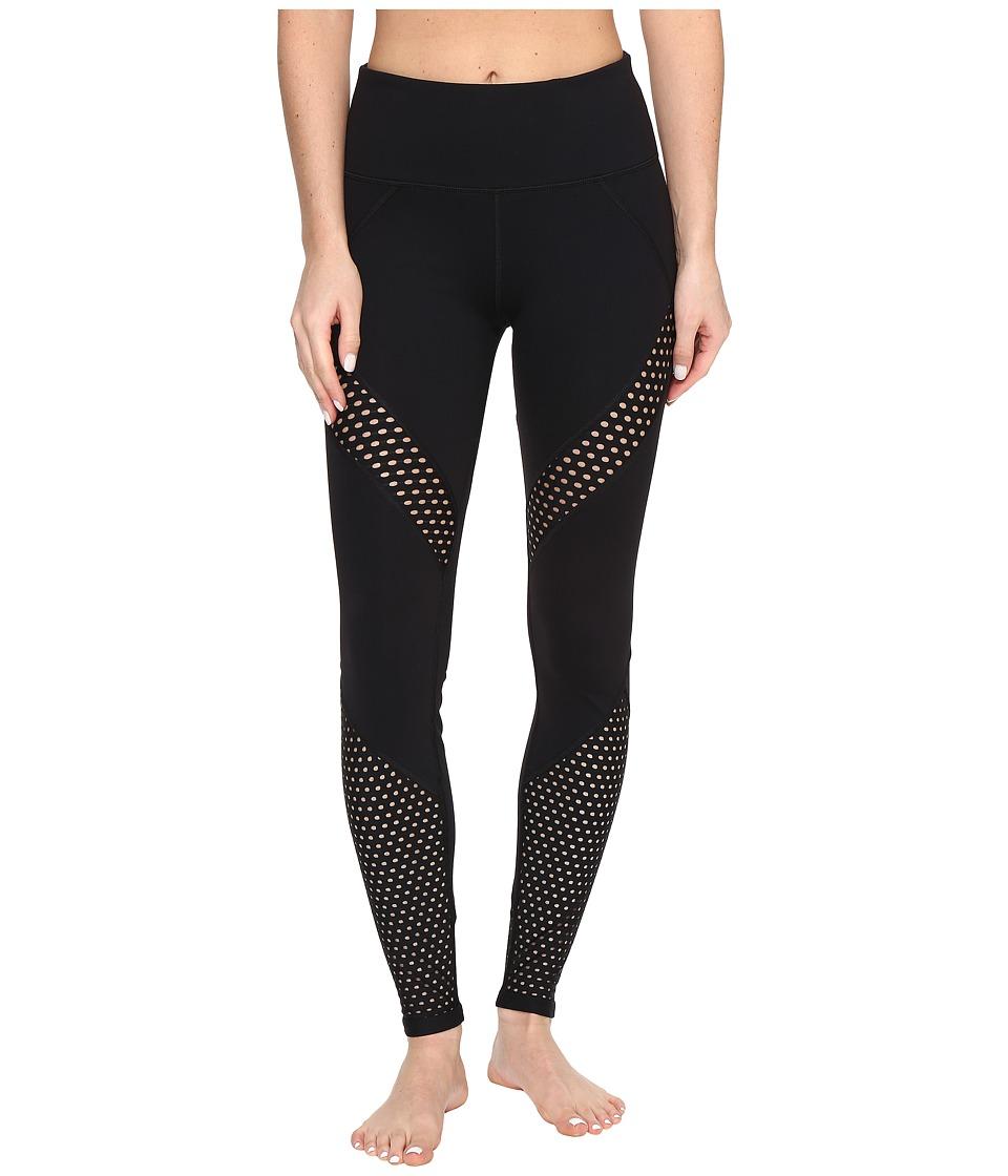 Lorna Jane - High Times Core F/L Tights (Black) Women's Casual Pants