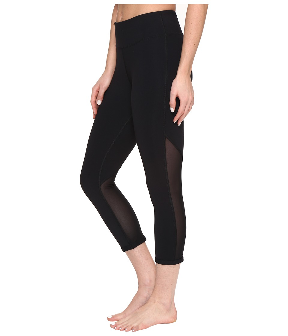 Lorna Jane - Shape To Fit Core 7/8 Tights (Black) Women's Casual Pants