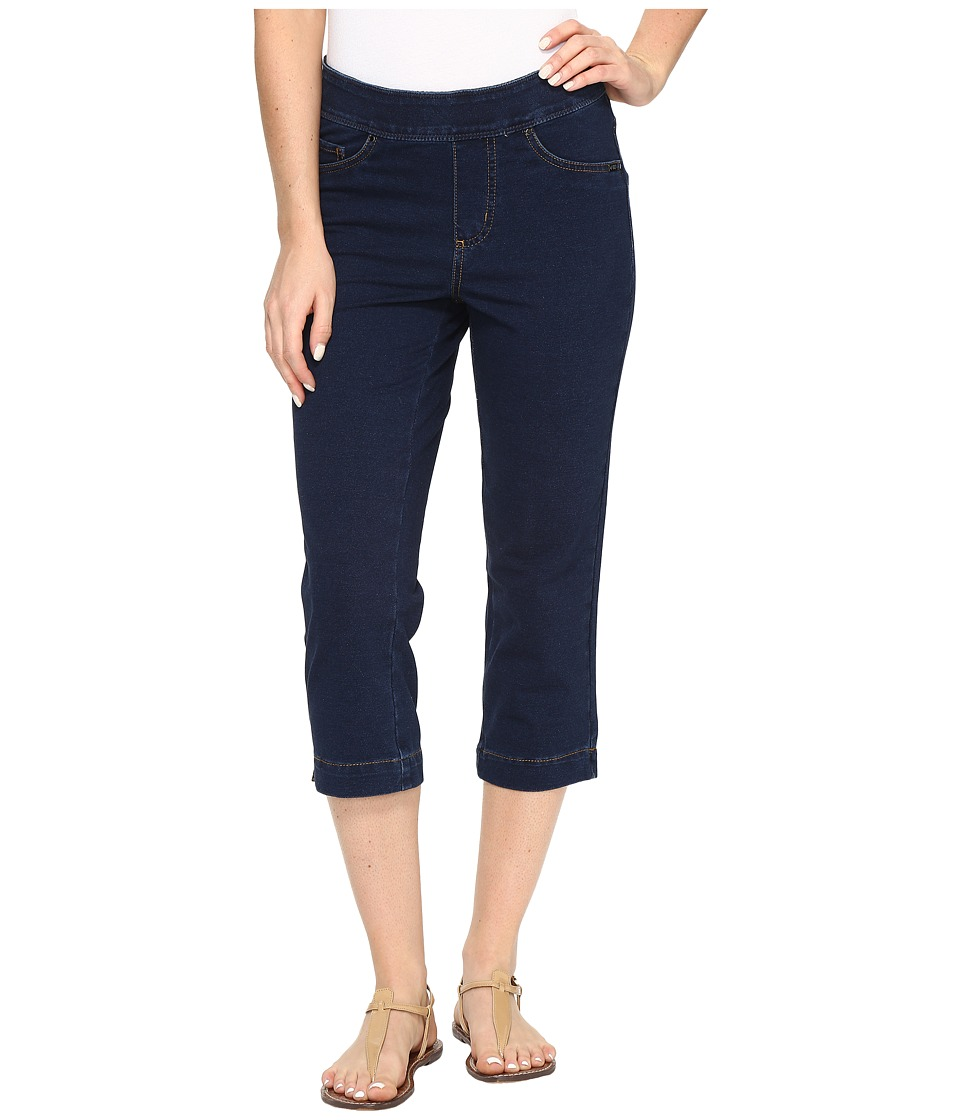 FDJ French Dressing Jeans - Comfy Denim Wonderwaist Pull-On Capris in Indigo (Indigo) Women's Jeans