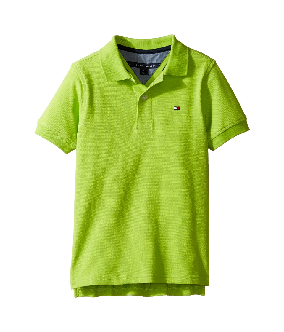 Tommy Hilfiger Kids - Ivy Polo (Toddler/Little Kids) (Lime Tonic) Boy's Clothing