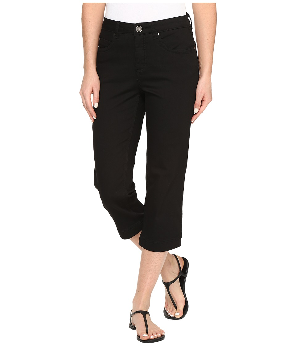 FDJ French Dressing Jeans Supreme Denim Olivia Slim Capris in Black (Black) Women