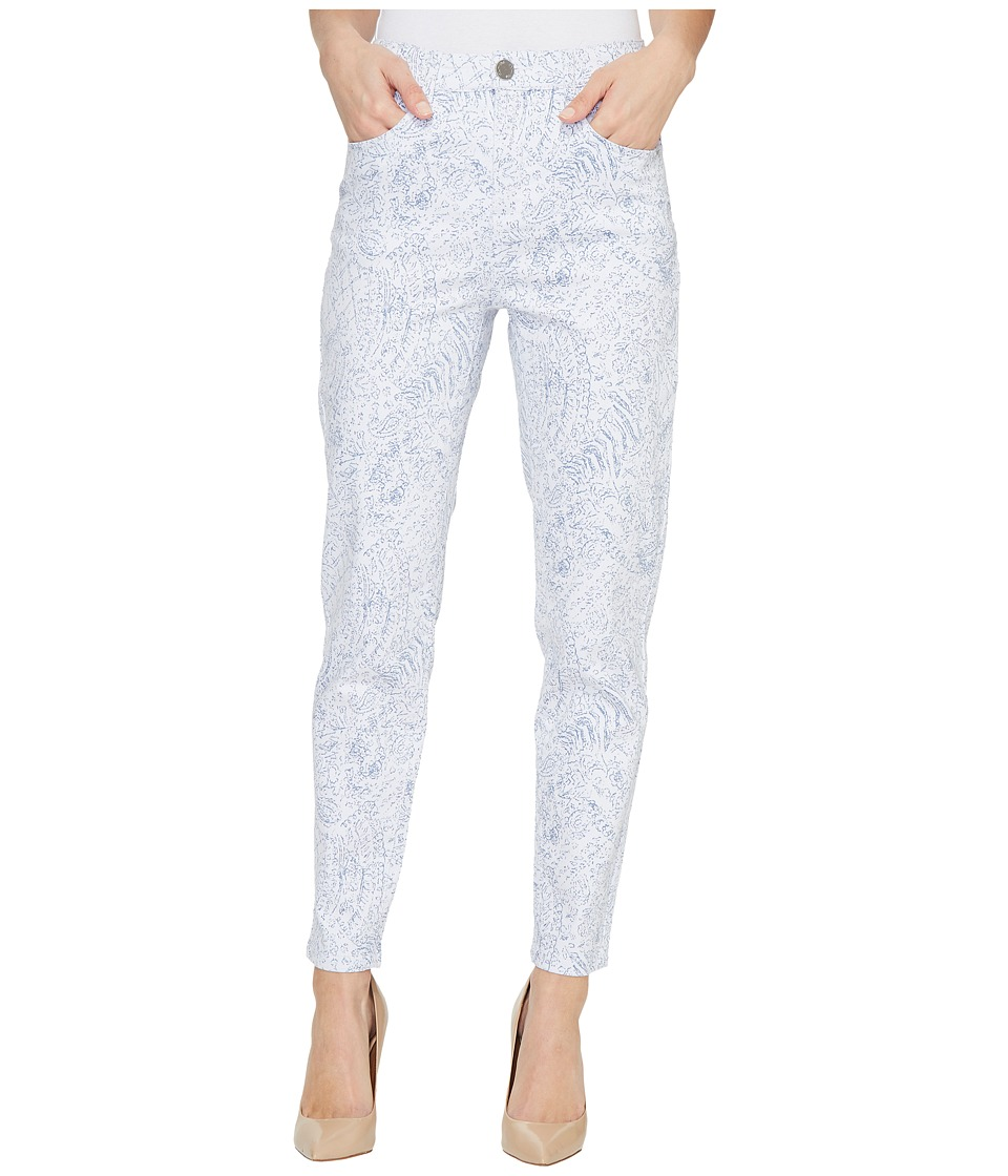 FDJ French Dressing Jeans - French Paisley Suzanne Slim Ankle in Blue (Blue) Women's Jeans