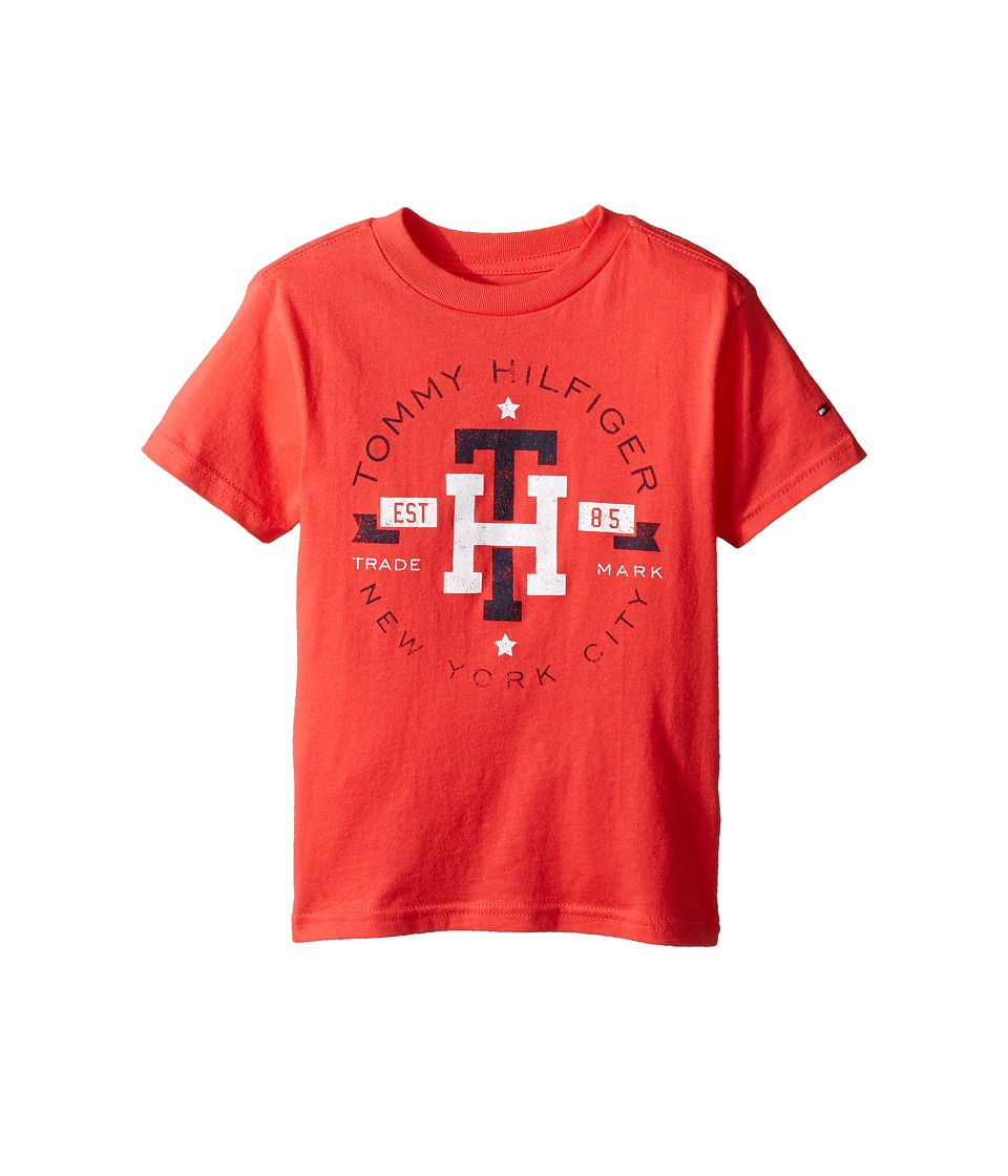 Tommy Hilfiger Kids - Circa Mark Tee (Toddler/Little Kids) (Hibiscus Tea) Boy's T Shirt
