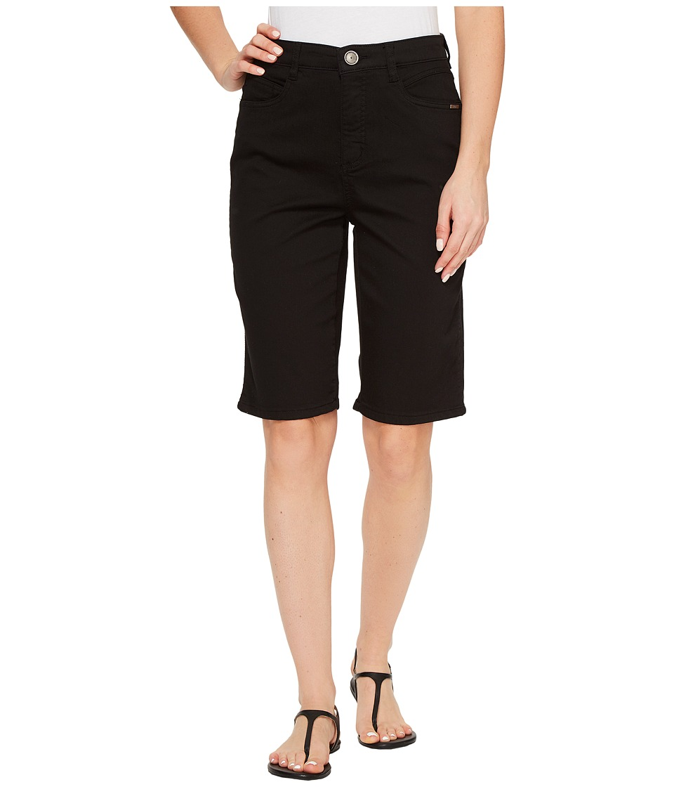 FDJ French Dressing Jeans - Supreme Denim Suzanne Bermuda in Black (Black) Women's Shorts