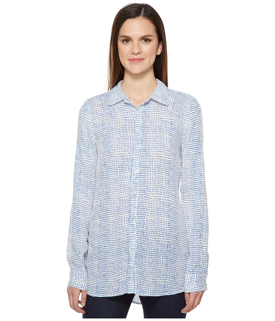 FDJ French Dressing Jeans - Rice Dot Blouse (Royal) Women's Blouse