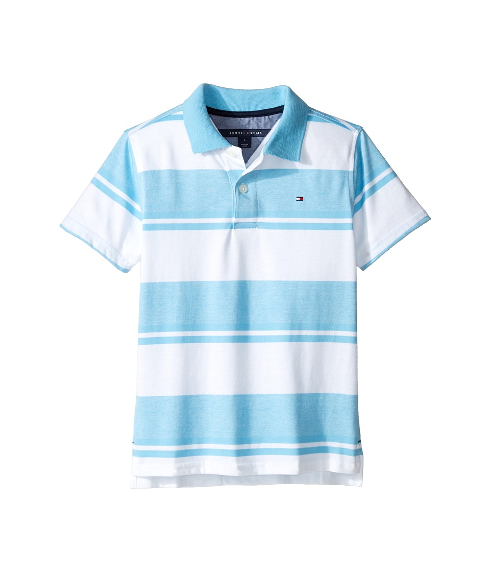 Tommy Hilfiger Kids - Gibson Polo (Toddler/Little Kids) (Zen Blue) Boy's Clothing