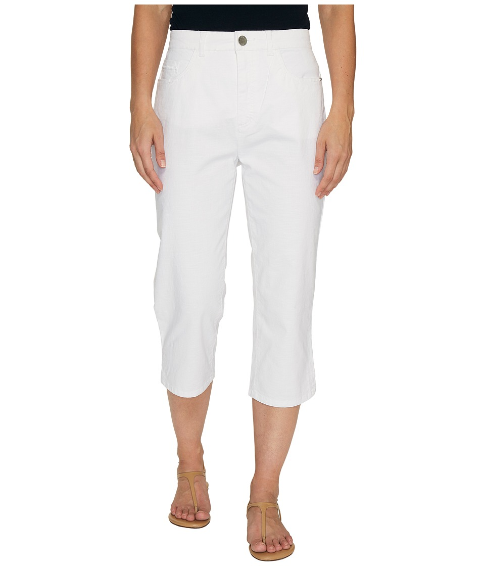 FDJ French Dressing Jeans Sedona Peggy Capris in White (White) Women