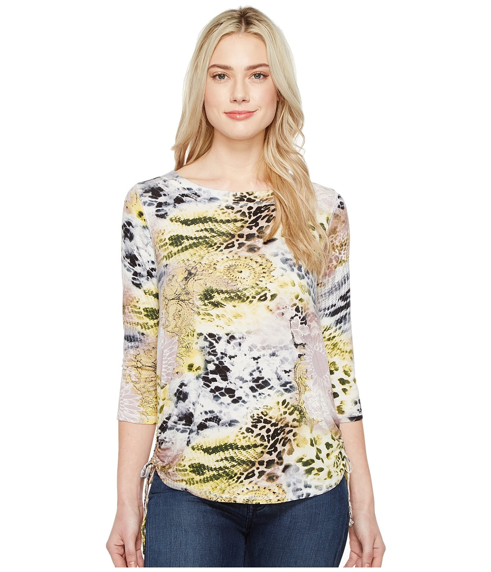 FDJ French Dressing Jeans - Chameleon Print Top (Multi) Women's Short Sleeve Pullover