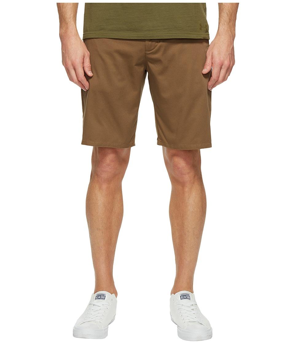 Brixton - Carter Short (Dark Khaki) Men's Shorts
