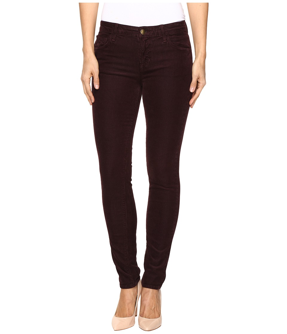J Brand - Mid-Rise Skinny in Blackberry (Blackberry) Women's Jeans