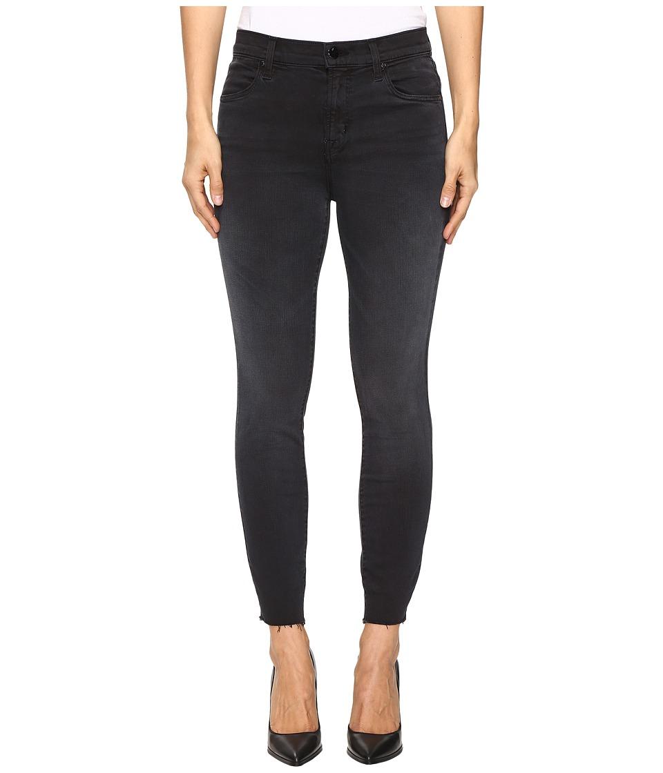 J Brand - Alana High-Rise Crop Raw Hem in Occult (Occult) Women's Jeans