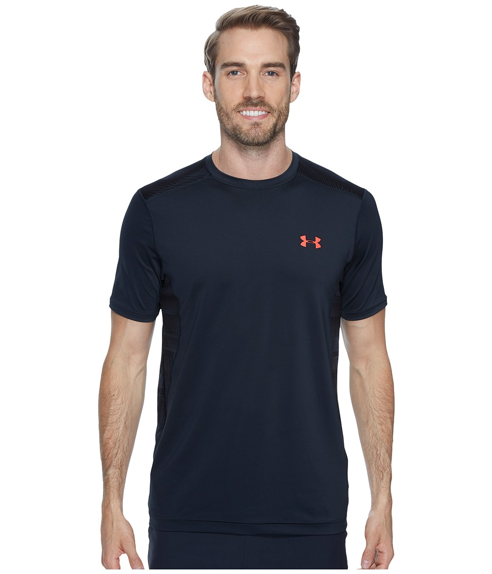 Under Armour - Raid S/S Tee (Anthracite/Anthracite/Marathon Red) Men's Short Sleeve Pullover