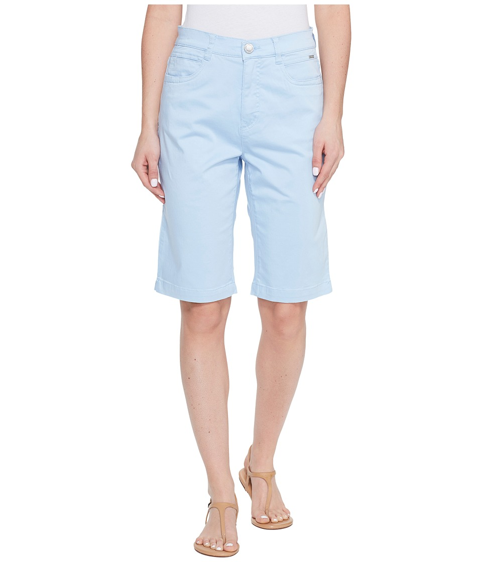 FDJ French Dressing Jeans - Sateen Suzanne Bermuda in Sky (Sky) Women's Shorts
