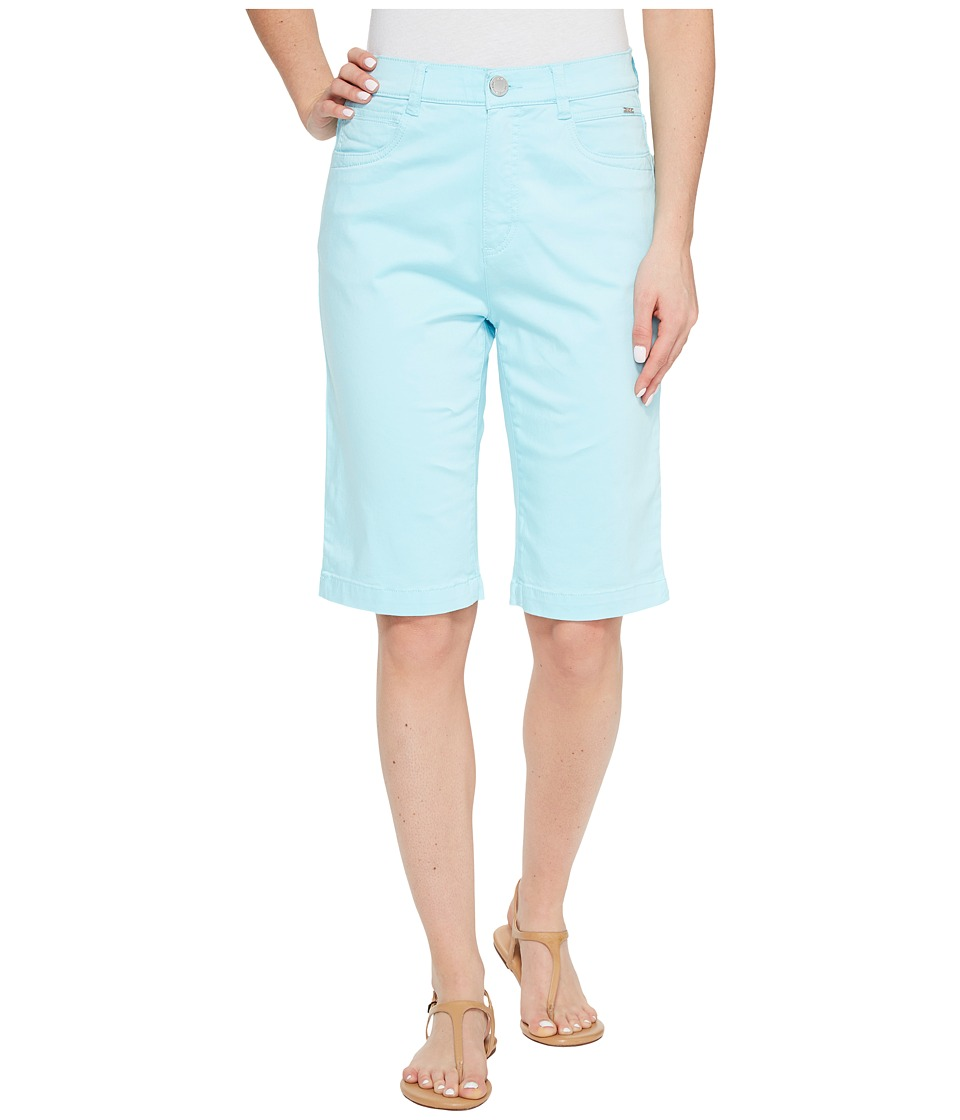 FDJ French Dressing Jeans - Sateen Suzanne Bermuda in Aqua (Aqua) Women's Shorts
