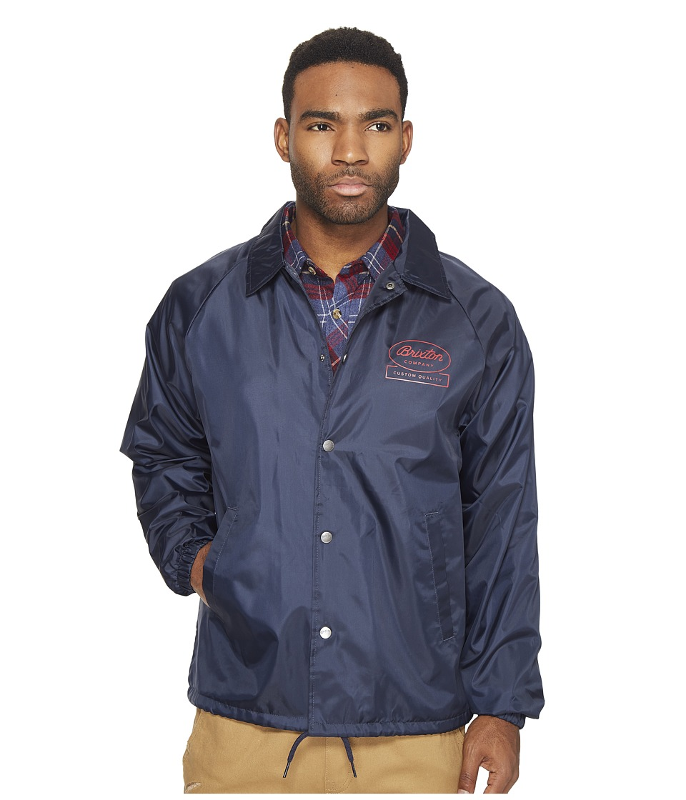 Brixton - Dale Jacket (Light Navy) Men's Coat