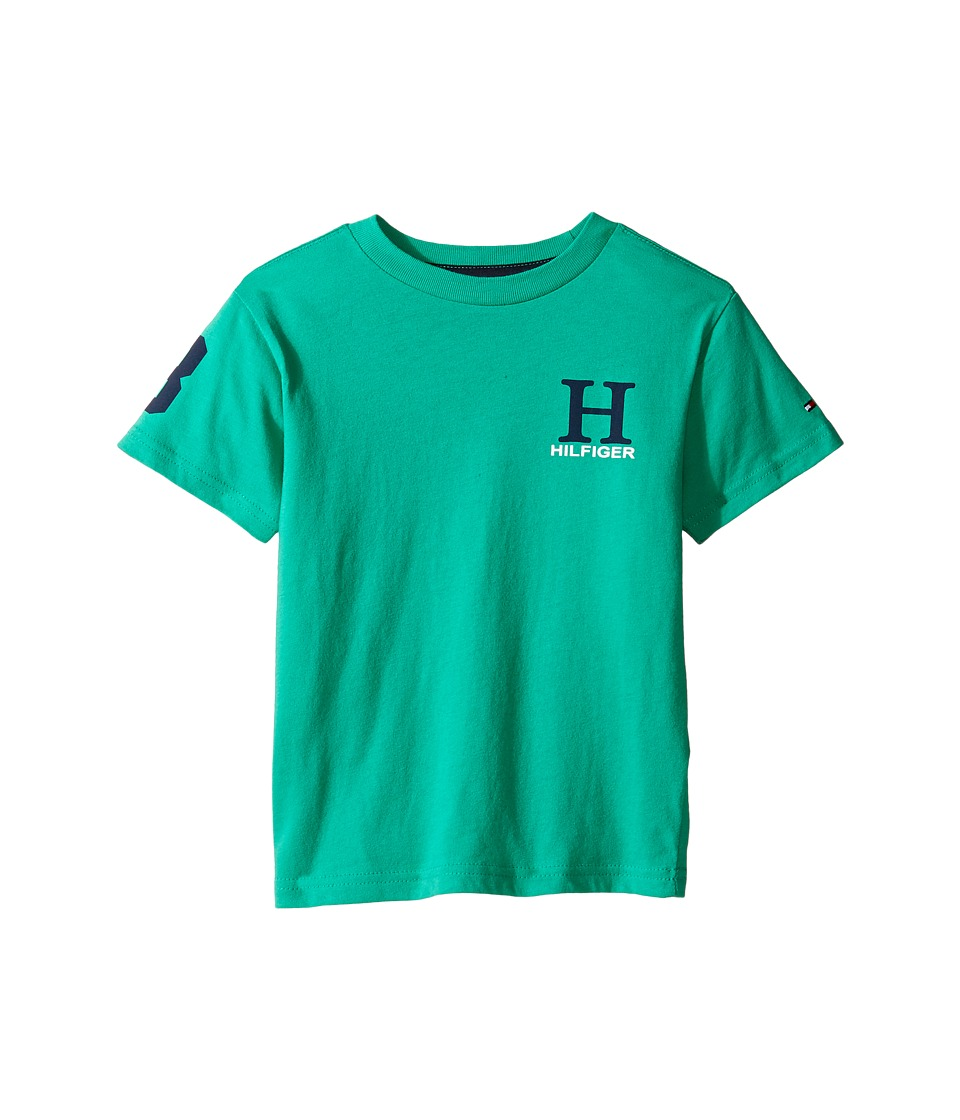 Tommy Hilfiger Kids - Matt Tee (Toddler/Little Kids) (Rio Green) Boy's T Shirt