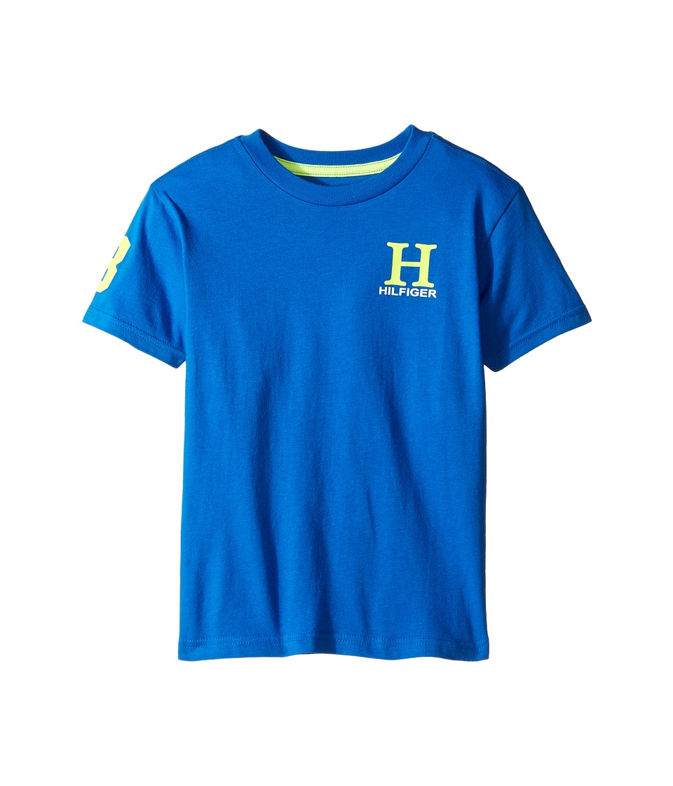 Tommy Hilfiger Kids - Matt Tee (Toddler/Little Kids) (Deep Dive Blue) Boy's T Shirt