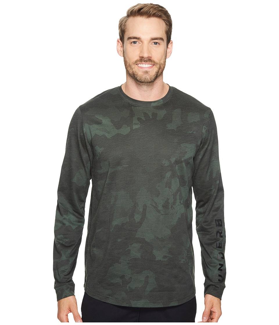 Under Armour - Sportstyle Long Sleeve Graphic Tee (Artillery Green/Black) Men's T Shirt