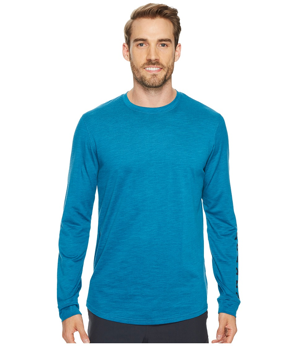 Under Armour - Sportstyle Long Sleeve Graphic Tee (Bayou Blue/Academy) Men's T Shirt