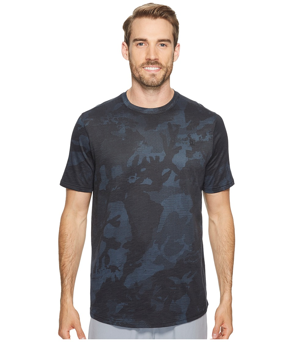 Under Armour - Sportstyle Core Tee (Asphalt Heather/Black) Men's T Shirt