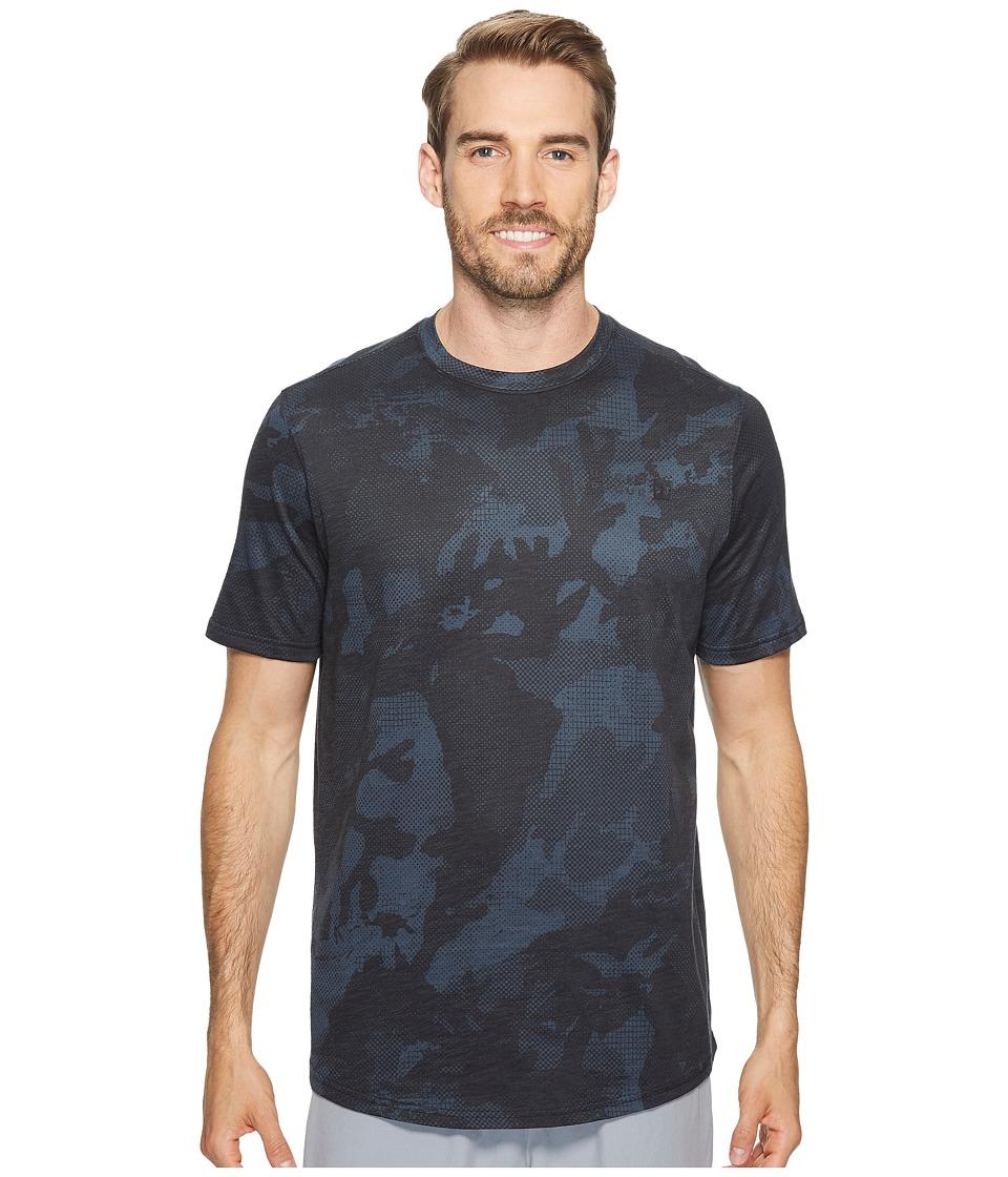 Under Armour - Sportstyle Core Tee (Asphalt Heather/Black) Men's T Shirt