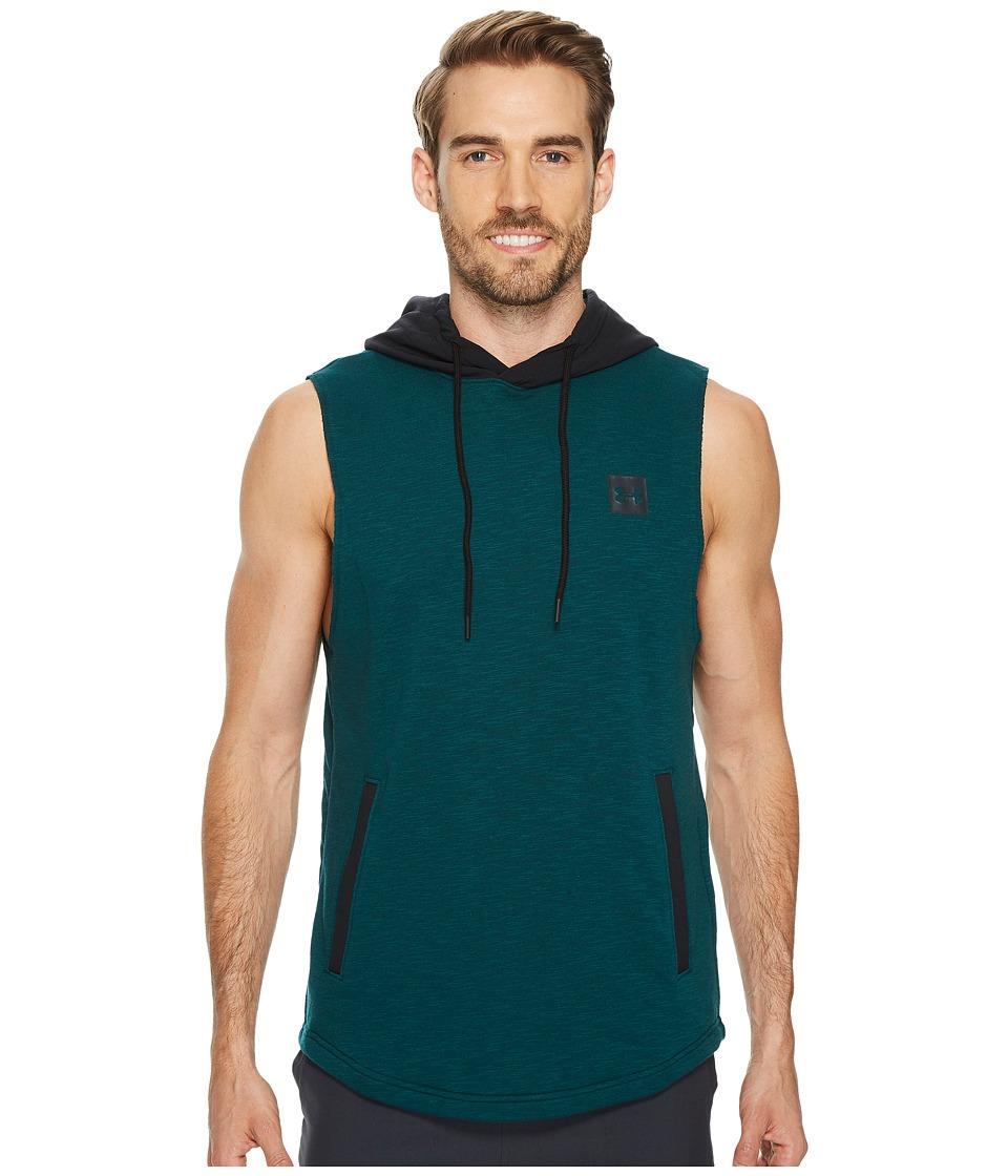 Under Armour - Sportstyle Sleeveless Hoodie (Arden Green/Black/Black) Men's Sweatshirt