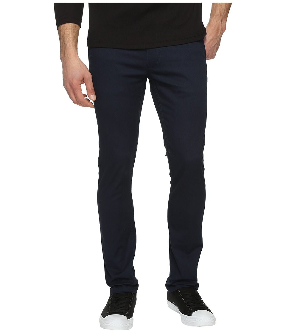 Brixton - Grain Slim Fit Chino Pants (Navy) Men's Casual Pants