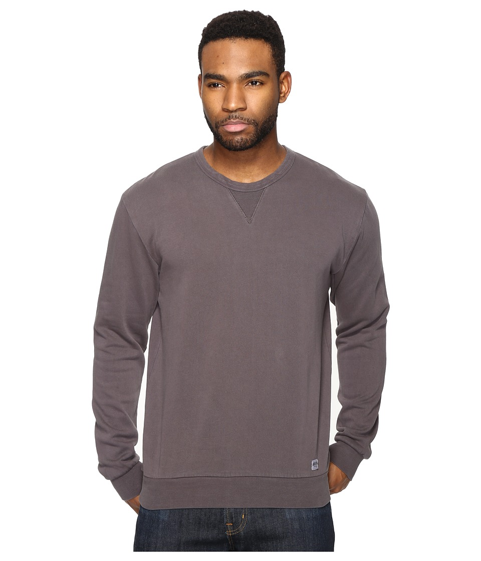 Brixton - Hackney Crew Fleece (Graphite) Men's Fleece