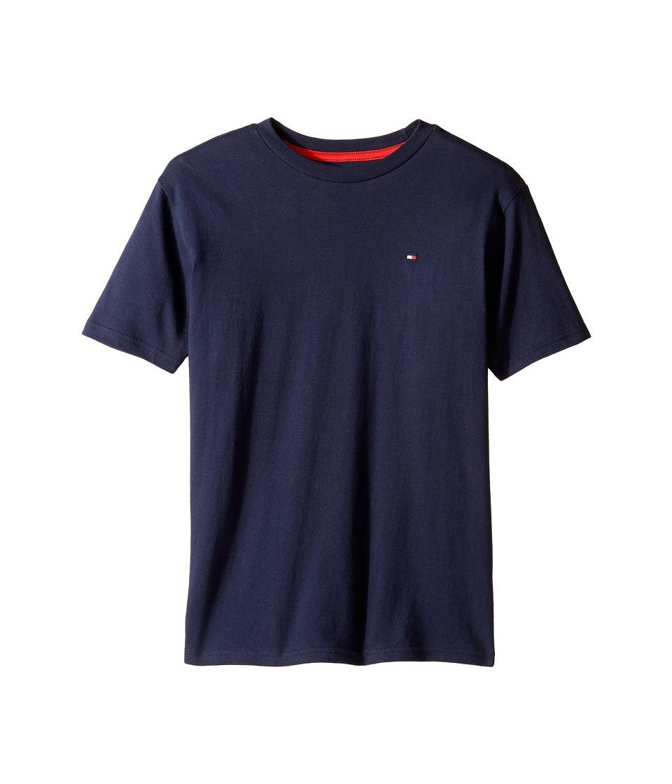 Tommy Hilfiger Kids - Tony Tee (Big Kids) (Swim Navy) Boy's T Shirt