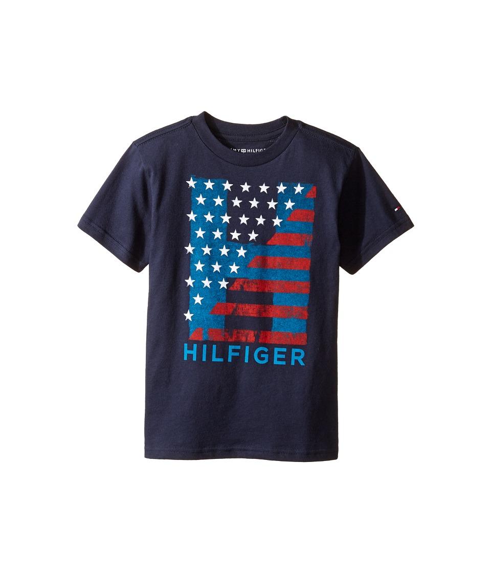 Tommy Hilfiger Kids - Homeroom Tee (Big Kids) (Swim Navy) Boy's T Shirt