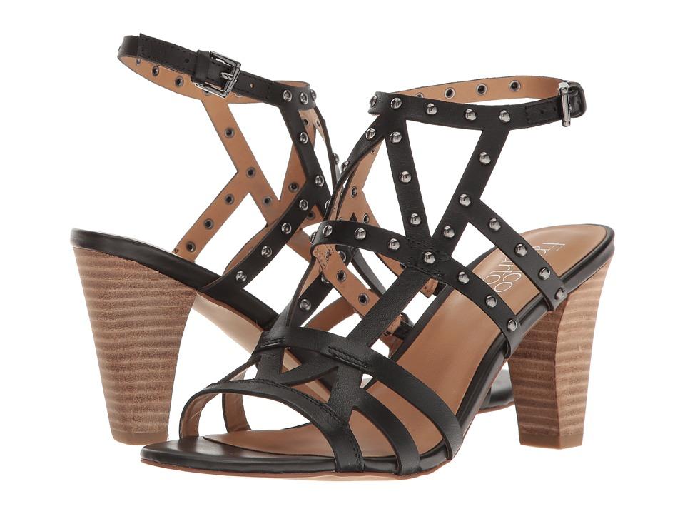 Franco Sarto Calesta (Black Leather) Women
