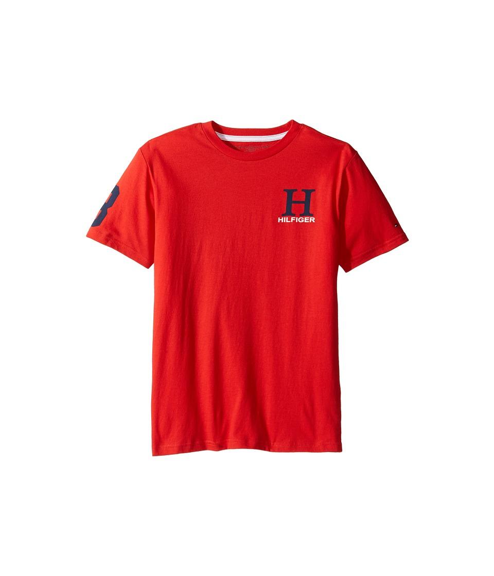 Tommy Hilfiger Kids - Matt Tee (Big Kids) (Ripe Tomato) Boy's T Shirt