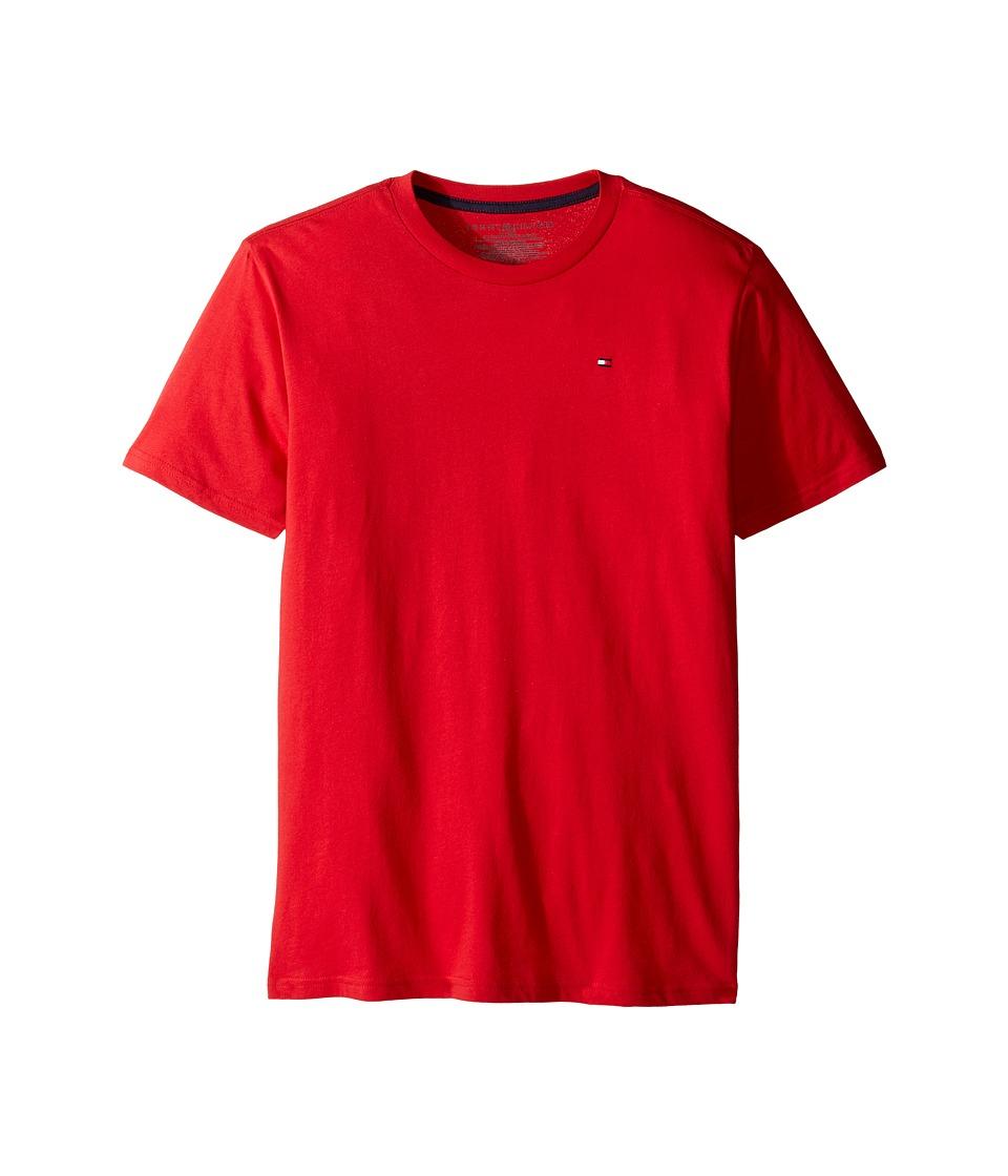 Tommy Hilfiger Kids - Tony Tee (Big Kids) (Apple Red) Boy's T Shirt