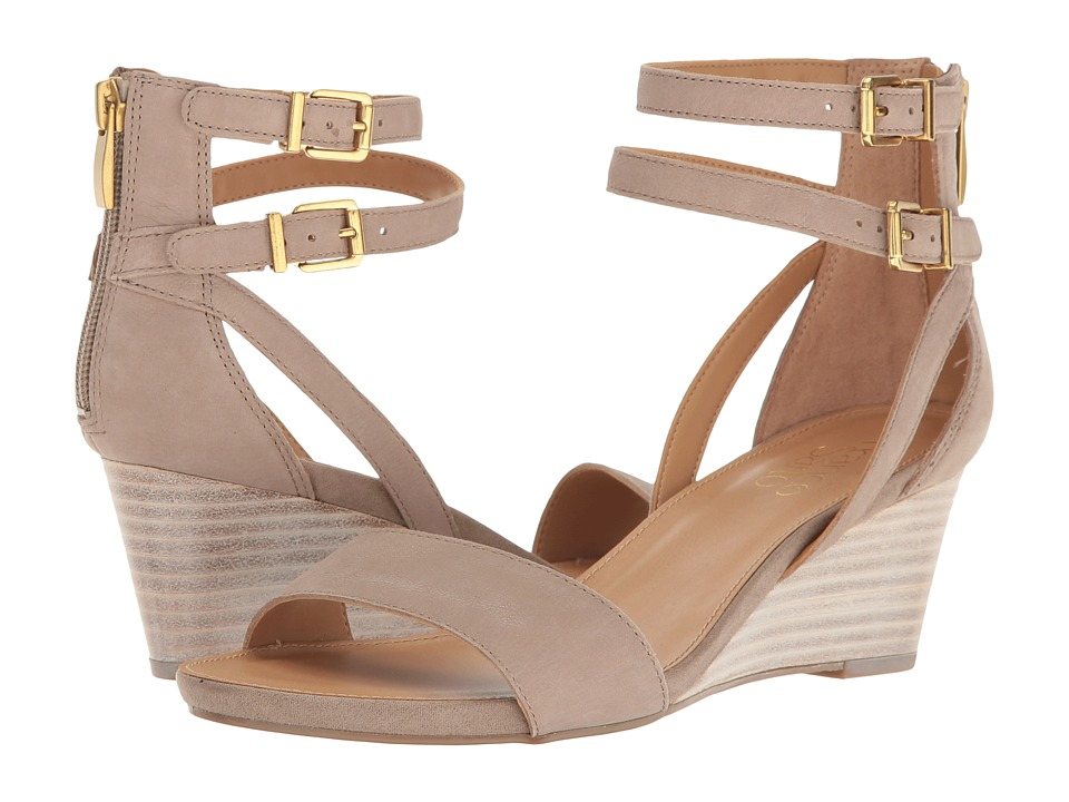 Franco Sarto - Danissa (Hitch Grey Leather) Women's Sandals