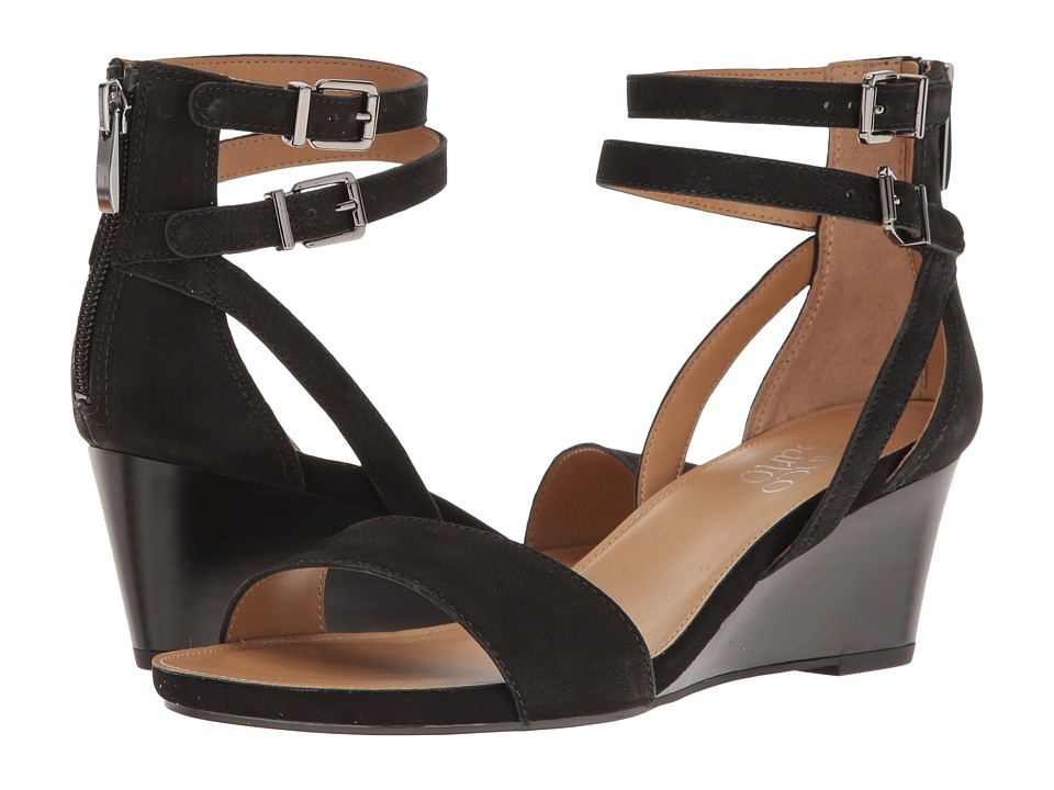 Franco Sarto Danissa (Black Leather) Women