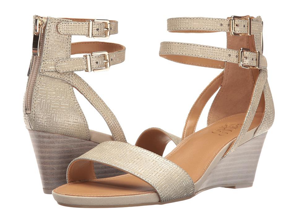 Franco Sarto - Danissa (Platinum Synthetic) Women's Sandals
