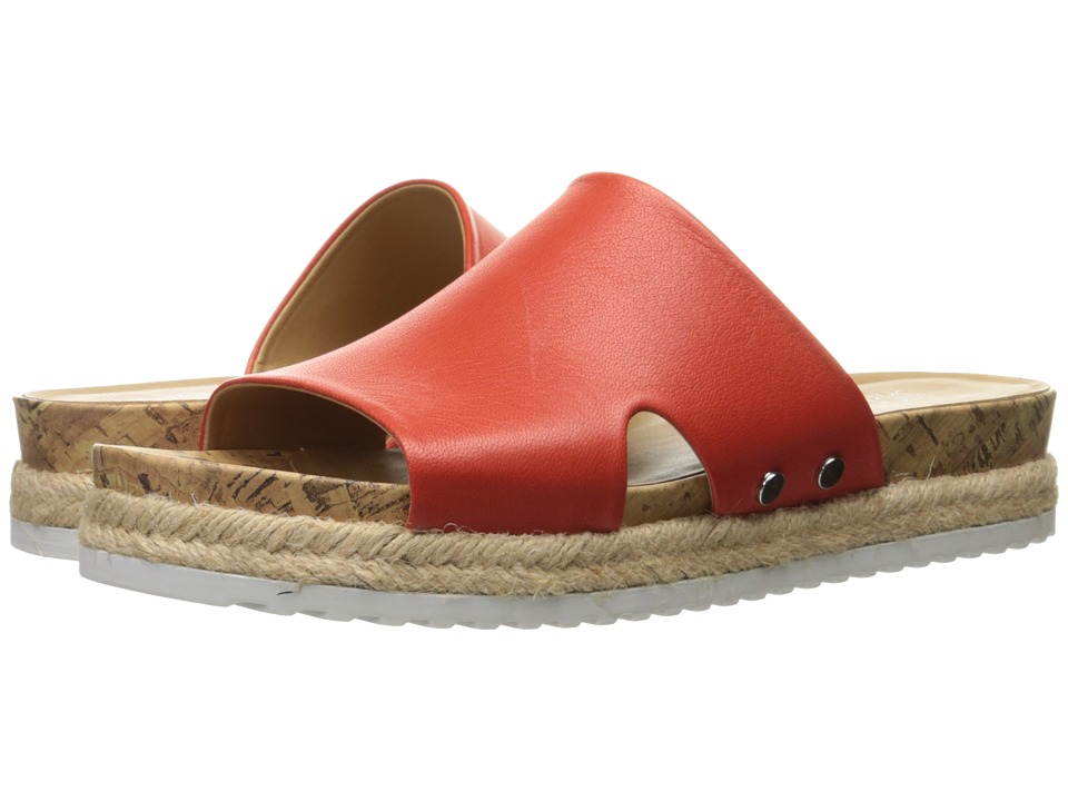 Franco Sarto - Elina (Orange Polly Lux Leather) Women's Sandals