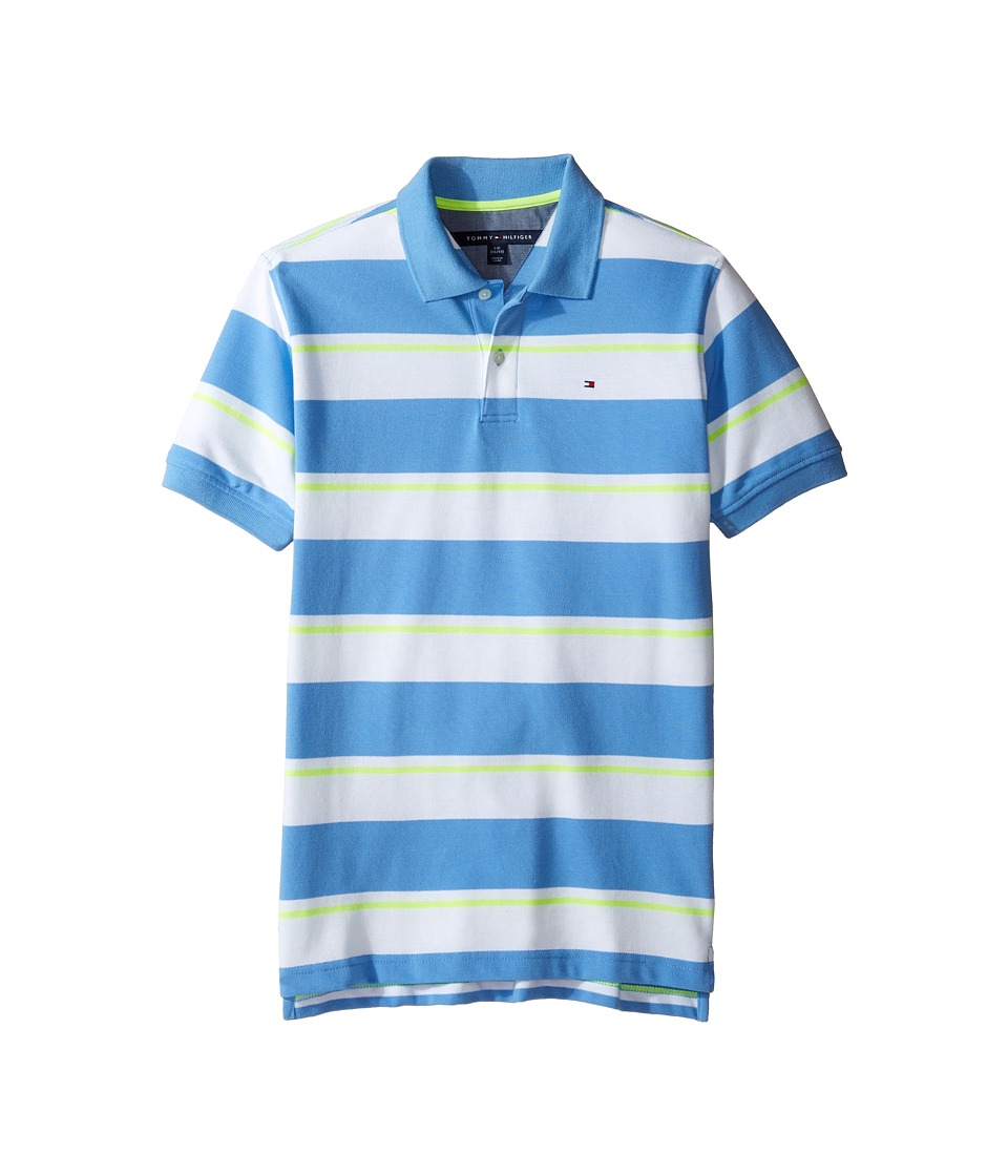 Tommy Hilfiger Kids - James Polo (Big Kids) (Summer Blue) Boy's Clothing