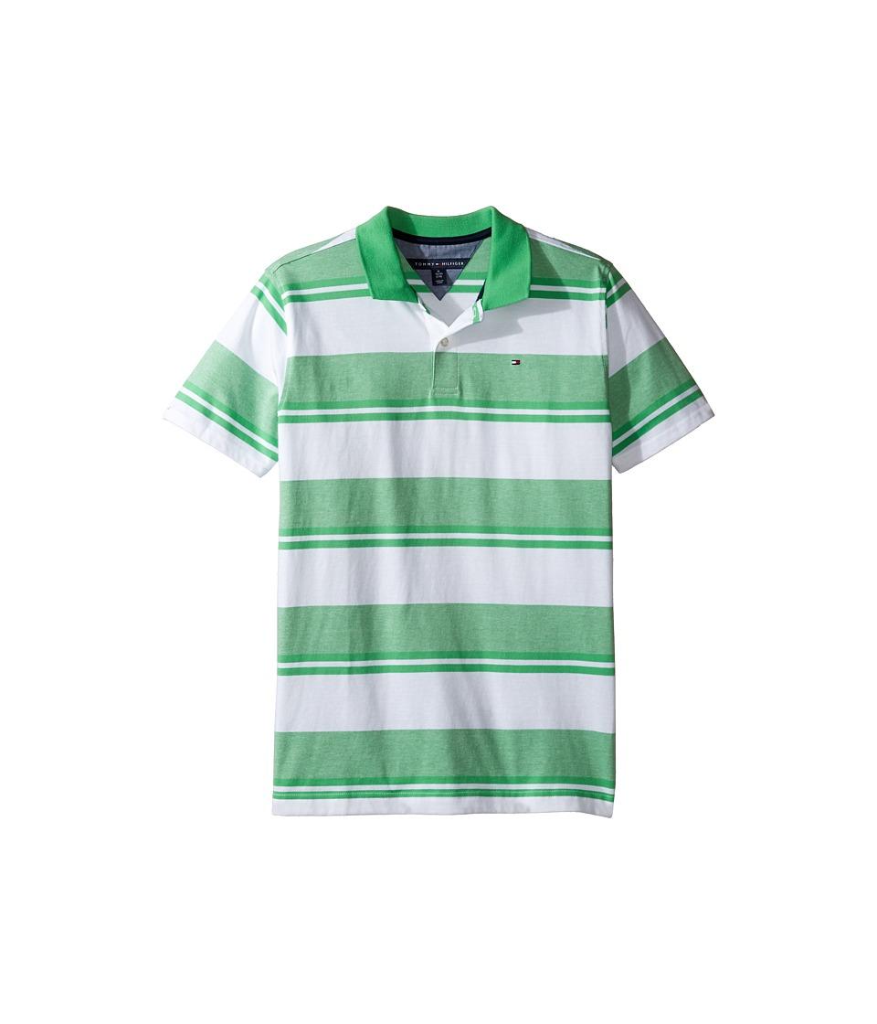 Tommy Hilfiger Kids - Gibson Polo (Big Kids) (Gunwale Green) Boy's Clothing