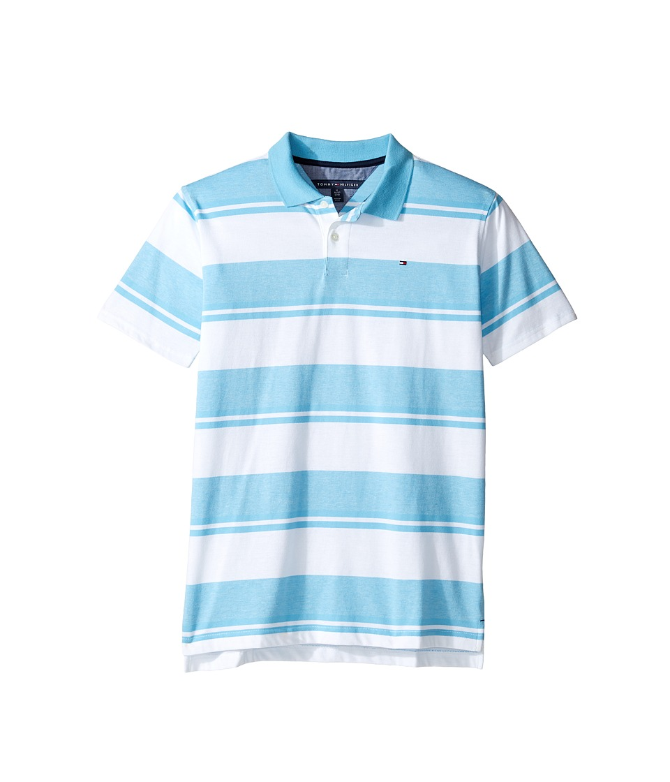 Tommy Hilfiger Kids - Gibson Polo (Big Kids) (Zen Blue) Boy's Clothing