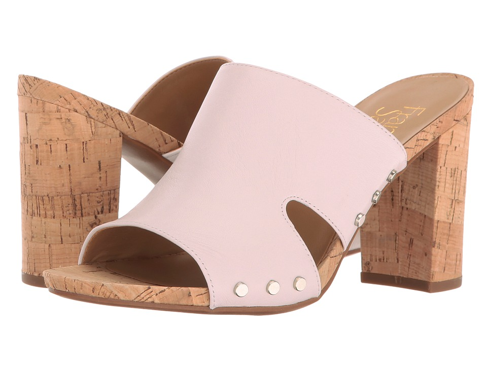 Franco Sarto - Jeanette (Chiffon White Polly Lux Leather) Women's Sandals