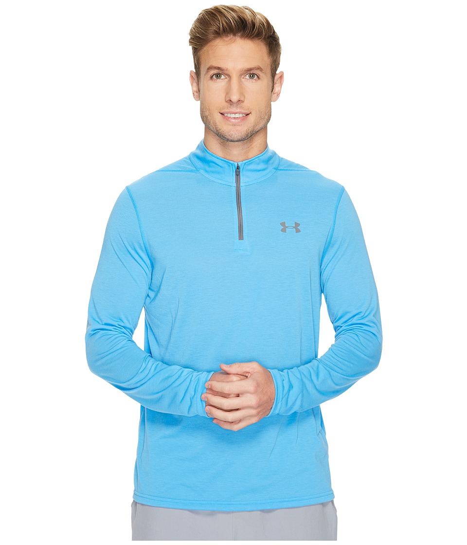 Under Armour UA Threadborne 1/4 Zip (Mako Blue/Graphite) Men