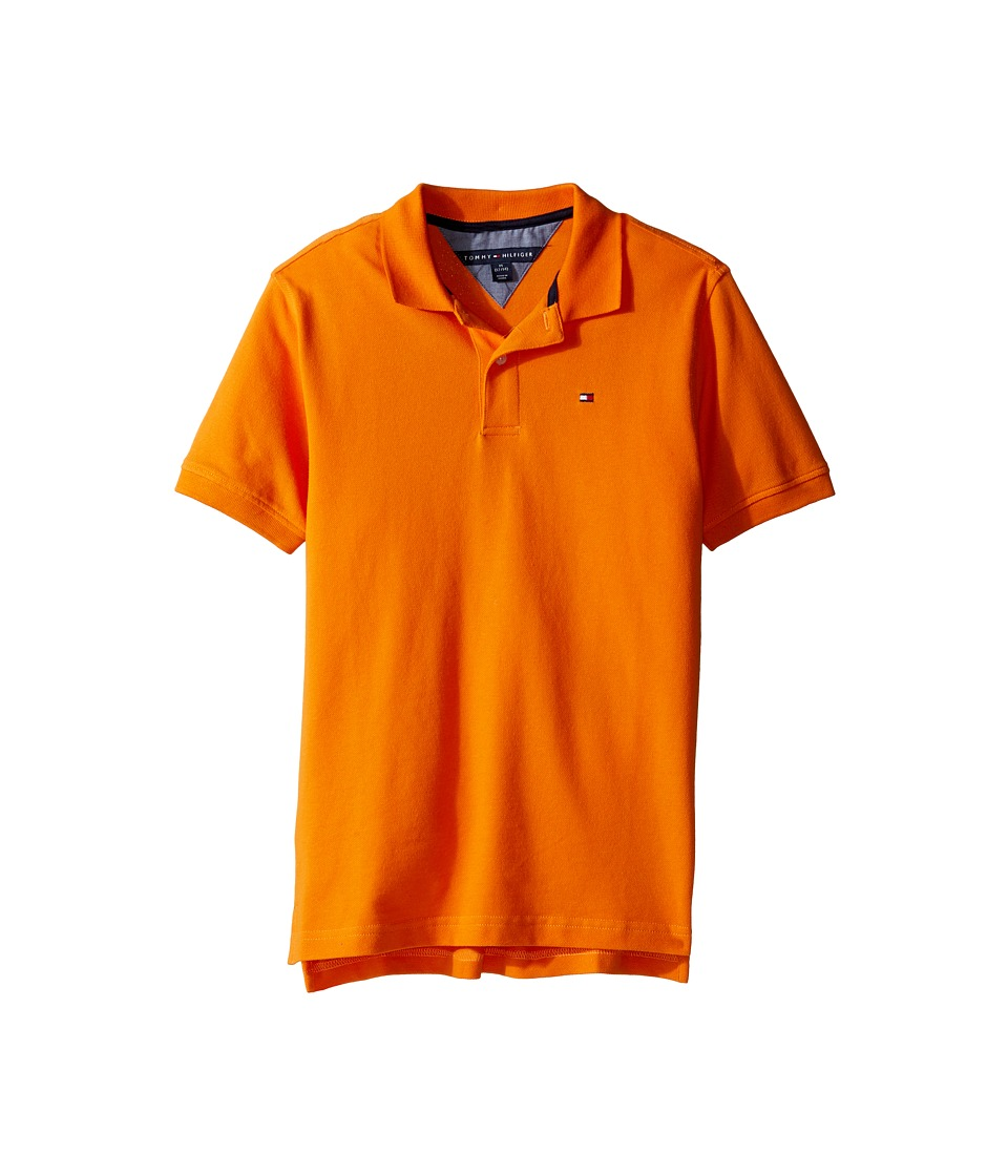 Tommy Hilfiger Kids - Ivy Polo (Big Kids) (Russet Orange) Boy's Clothing