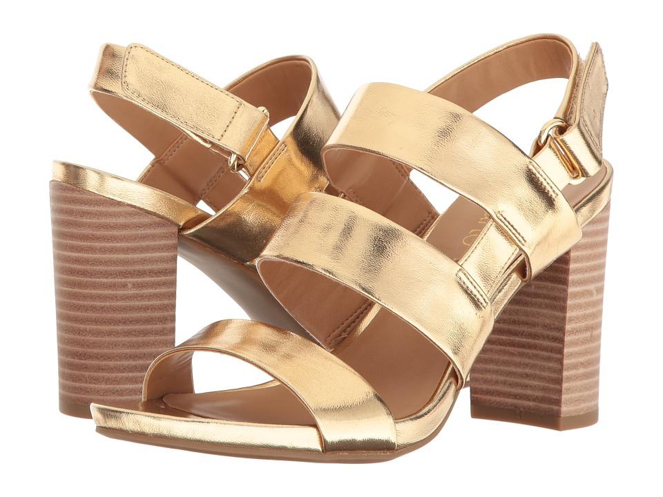 Franco Sarto Jena (Warm Gold Synthetic) High Heels