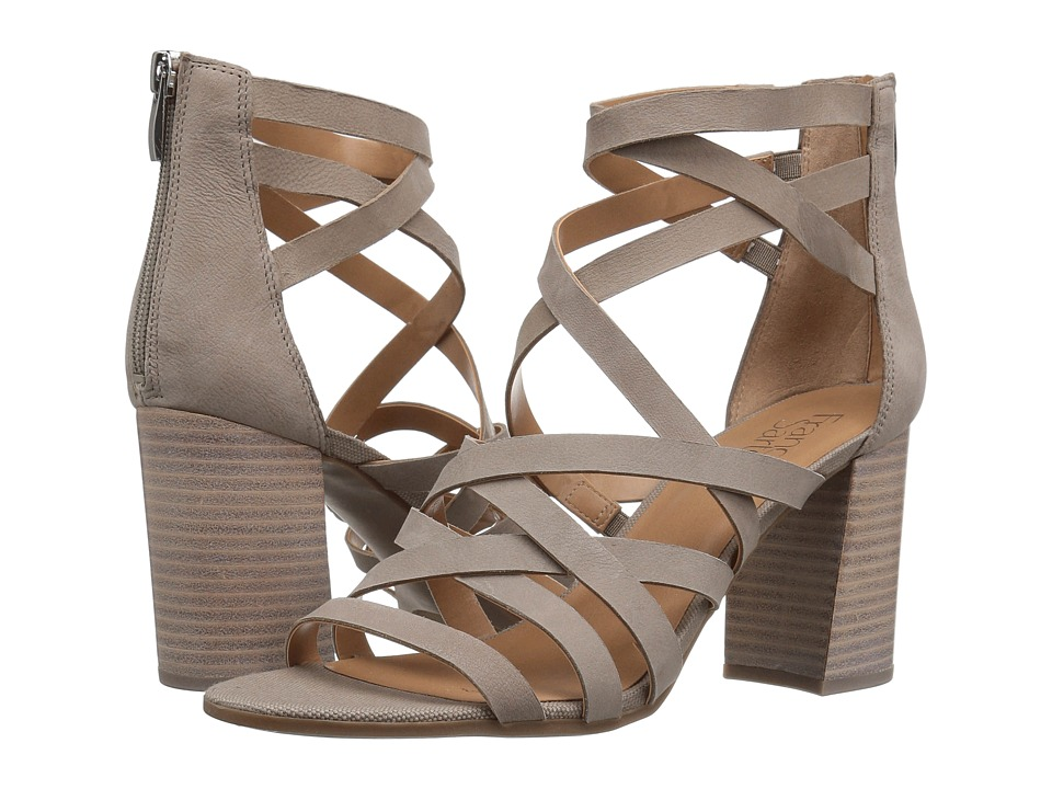 Franco Sarto - Madrid (Hitech Grey Leather) Women's Sandals