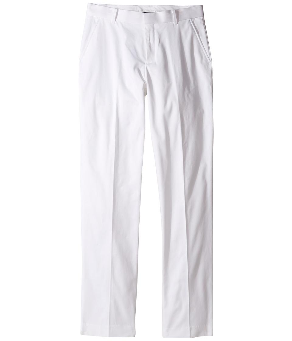 Tommy Hilfiger Kids - Fine Twill Pants (Big Kids) (White) Boy's Casual Pants