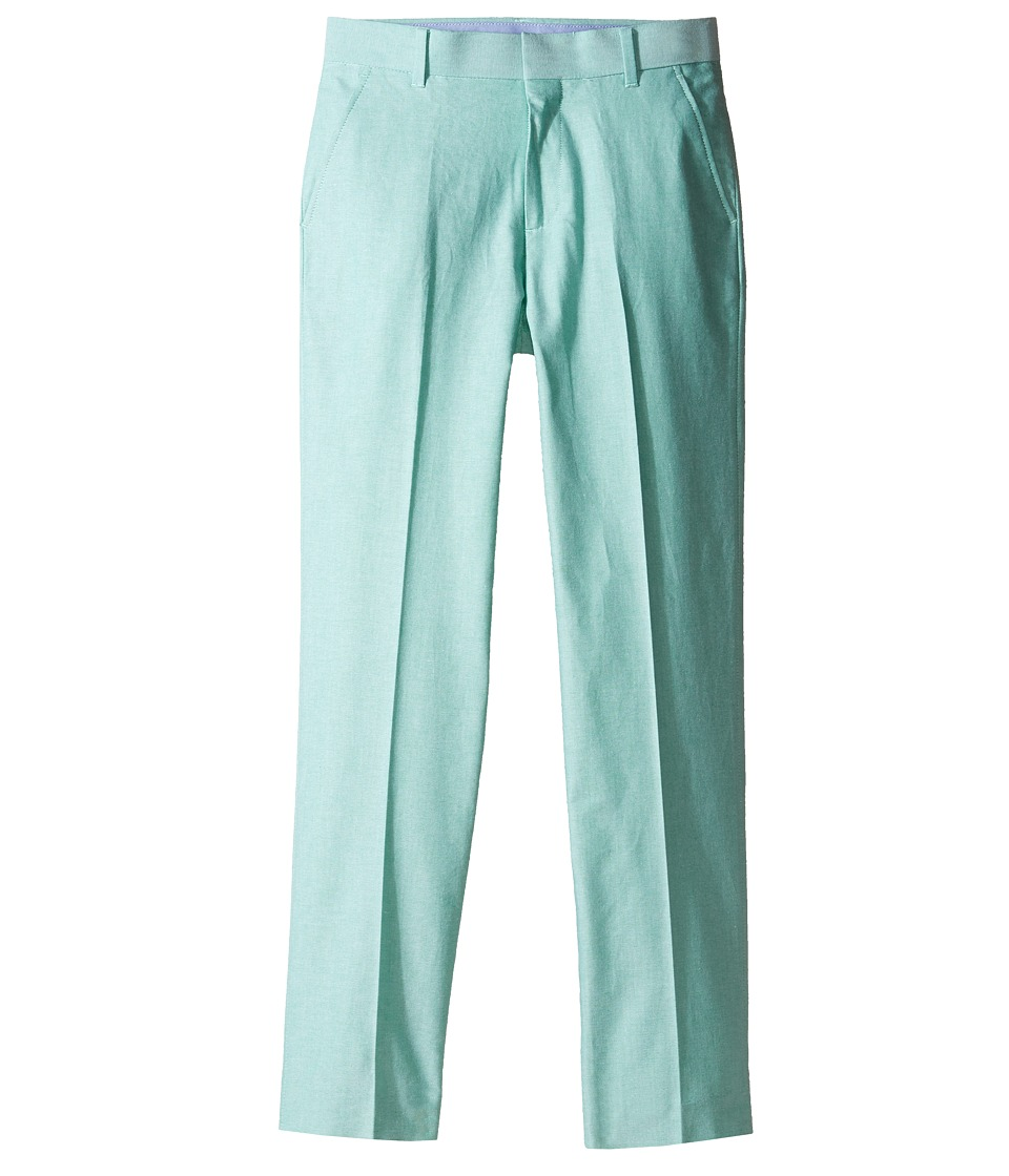 Tommy Hilfiger Kids - Oxford Pants (Big Kids) (Green) Boy's Casual Pants