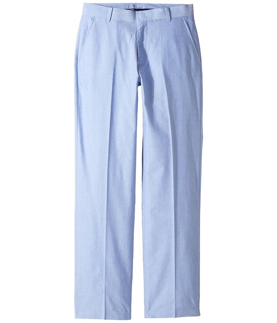 Tommy Hilfiger Kids - Oxford Pants (Big Kids) (Medium Blue) Boy's Casual Pants
