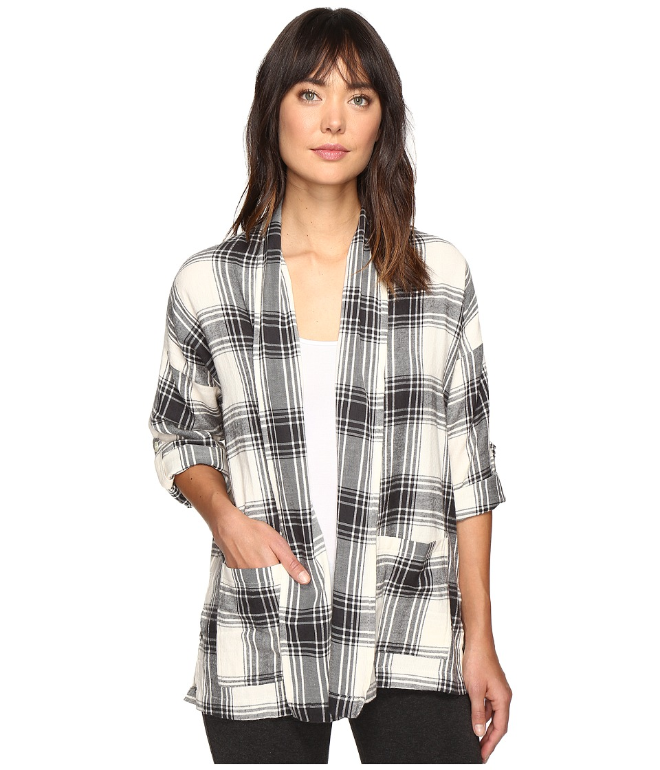 Billabong - Live Out Loud Flannel (White Cap) Women's Clothing