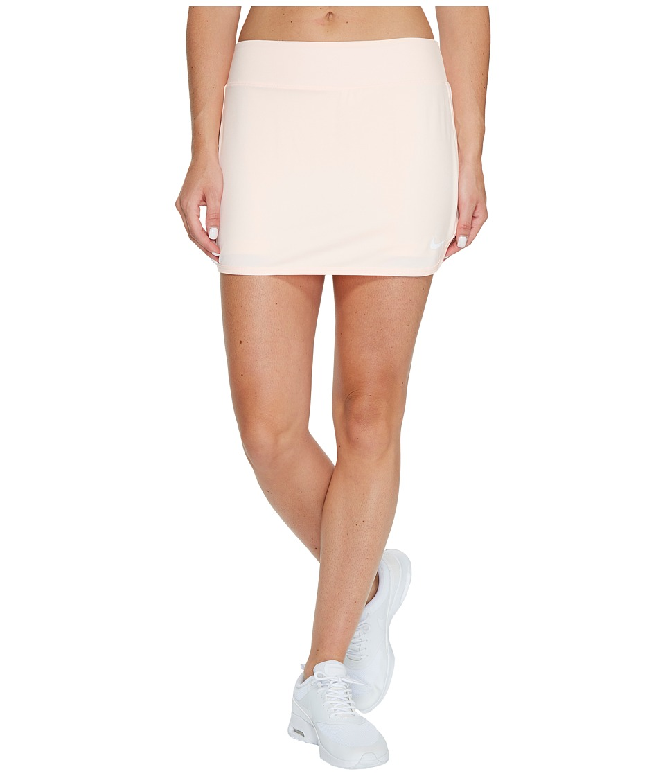 Nike Court Pure Tennis Skirt (Sunset Tint/White) Women